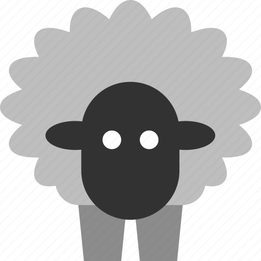 animal, barn, farm, lamb, mutton, ram, sheep icon