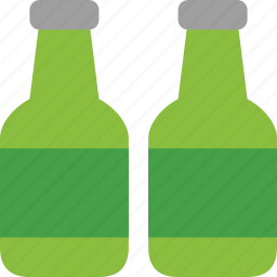 alcohol, bbq, beer, beverage, bottles, drink, heineken, lager icon