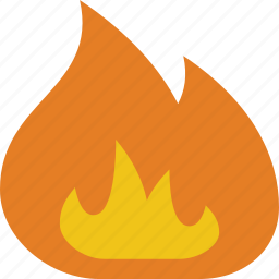bbq, burn, campfire, fire, flame, heat, hot icon