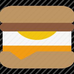 breakfast, egg, mcmuffin, sandwich icon