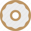 bagel, bakery, cream cheese, deli, schmear icon