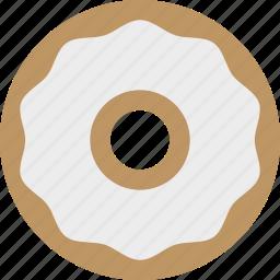 bagel, bakery, cream cheese, deli, schmear icon