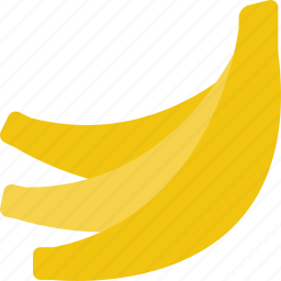 bananas, breakfast, fruit icon