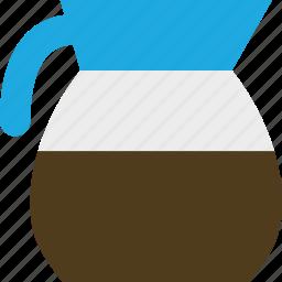 breakfast, caffeine, coffee, drink, pot icon