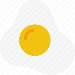 breakfast, egg, food, fried icon