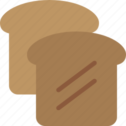 bread, breakfast, toast icon