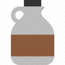breakfast, jug, maple, pancakes, syrup, vermont, waffles icon