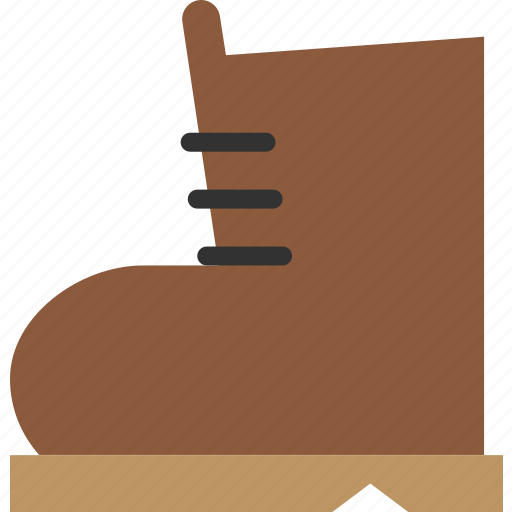 boot, hiking, shoe, utility icon