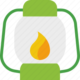 fire, flashlight, lamp, lantern, light icon