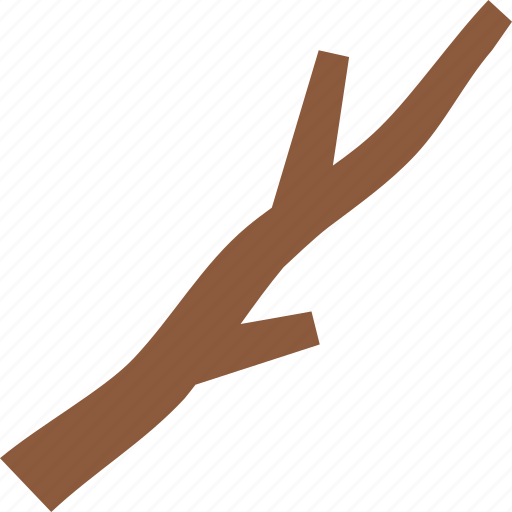 branch, forest, smores, stick, tree icon
