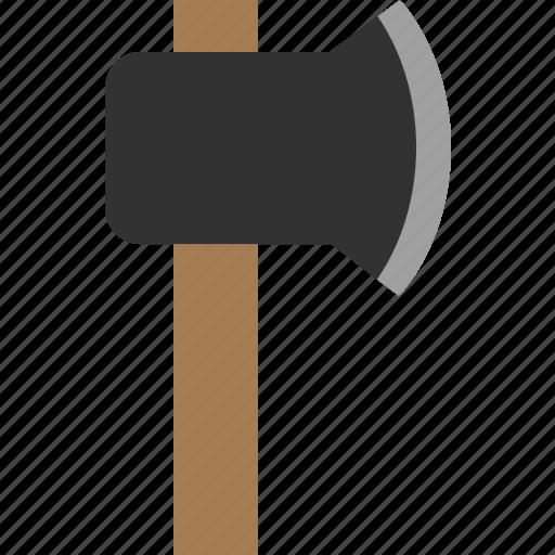axe, chop, cut, hatchet, wood icon