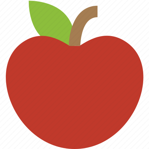 apple, fruit, healthy, nutrition icon