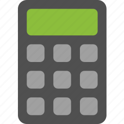 algebra, calculator, calculus, math icon