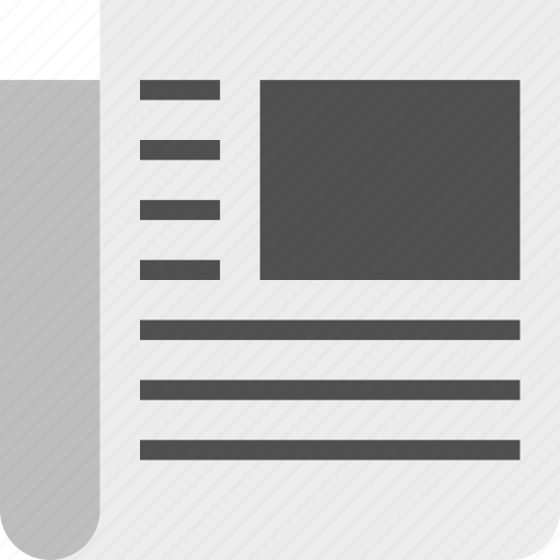 journal, news, newspaper, paper icon