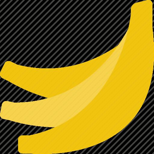bananas, fruit, potassium, tropical icon