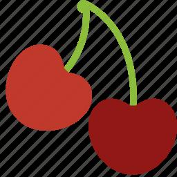 berry, cherries, fresh, fruit, healthy icon