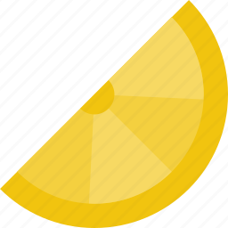 citrus, fruit, lemon, lemonade, wedge icon