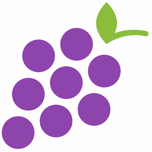 food, fruit, grapes, healthy, raisin, wine icon