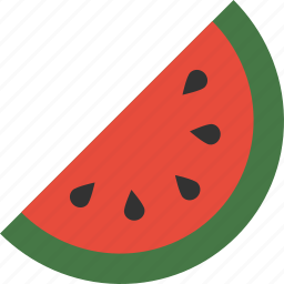 fruit, melon, picnic, seeds, slice, summer, watermelon icon