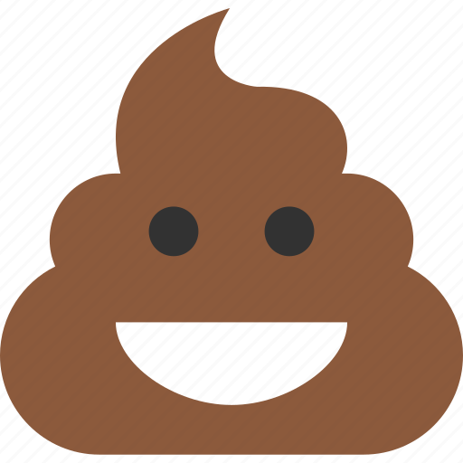 happy, poop icon