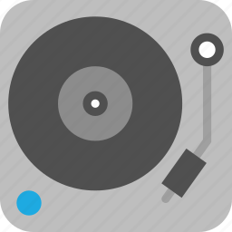 dj, music, record, record player, turntable, vinyl icon