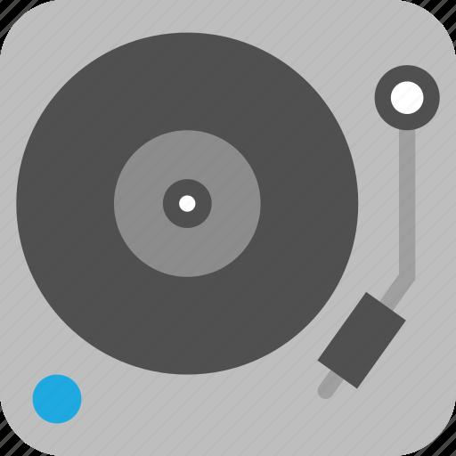 dj, music, record, record player, turntable, vinyl icon