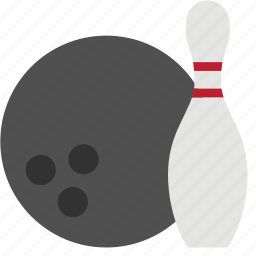 alley, bowling, bowling ball, bowling pins icon