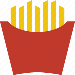 fast food, french fries, fries, junk food, mcdonalds, potato icon