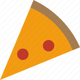 pepperoni, pizza, slice icon