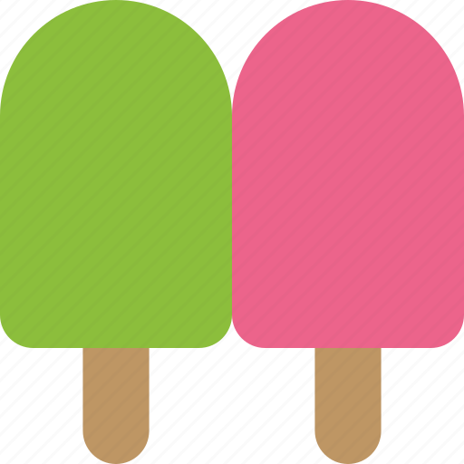 dessert, frozen, popsicles icon