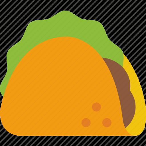 food, junk food, mexican, taco icon