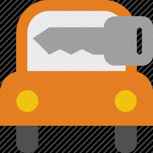 Car, key, rental icon - Download on Iconfinder on Iconfinder