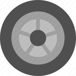 spare, tire, wheel icon