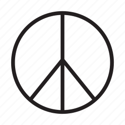 hippie, hippies, love, peace icon