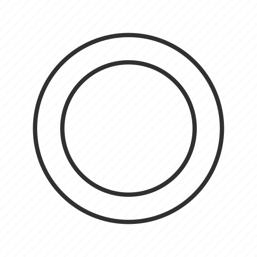 circle, double circle, double round, ring, ripple, round icon