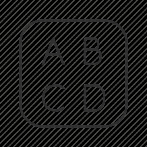 abc  encode  font  font button  text  text button  type icon