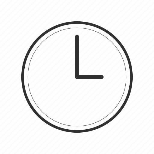 clock, date, hour, three thirty, time, timer, watch icon