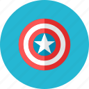 captain, shield icon