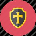 2, shield icon