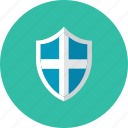 3, shield icon