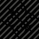 floral symbol icon