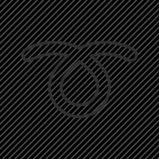 curl, curly loop, design, forever, infinity, loop, ribbon icon