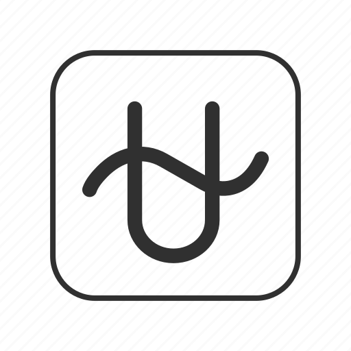 astrological sign, ophiuchus, thirteenth sign, u with wavy sign, zodiac sign, zodiac symbol icon