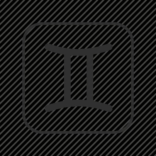 Gemini Symbol, Quality, Element and Planet