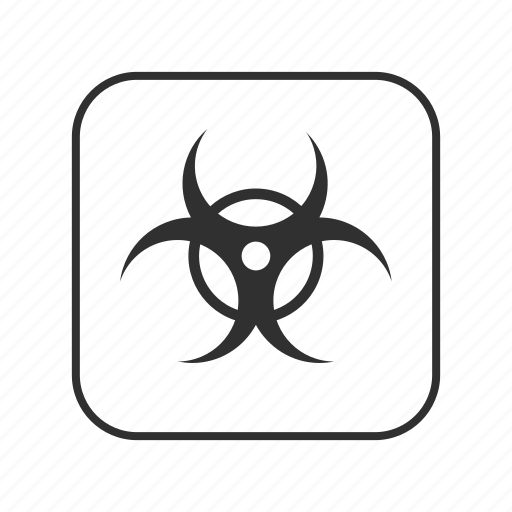 biohazard, biohazard sign, biological hazard, hazard, medical waste, threat to human health, warning icon