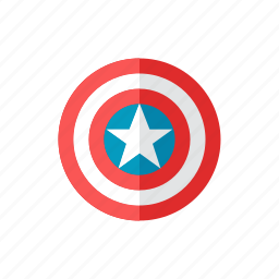 captain, shield icon