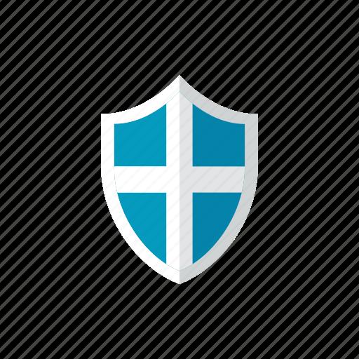 3, shield icon