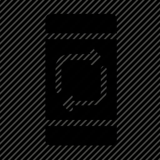 refresh, smartphone, sync icon