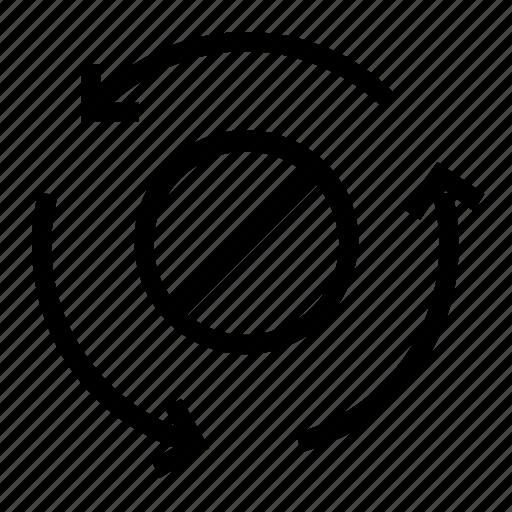 block, refresh, sync, update icon