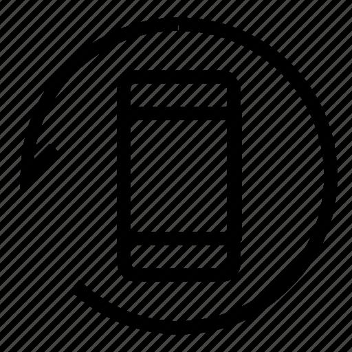 refresh, smartphone, sync, update icon